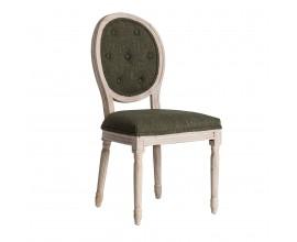 Štýlová zelená stolička PROVENCE