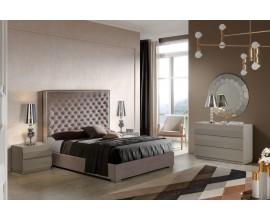 Luxusná manželská posteľ Melody s čalúneným čelom s nadčasovým chesterfield prešívaním 150-180cm