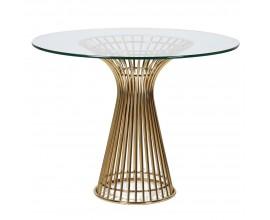 Dizajnový jedálenský stôl RONDA 100cm