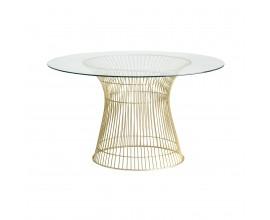 Luxusný jedálenský stôl REUT 130cm