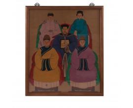 Obraz Číňania 2 137x103cm