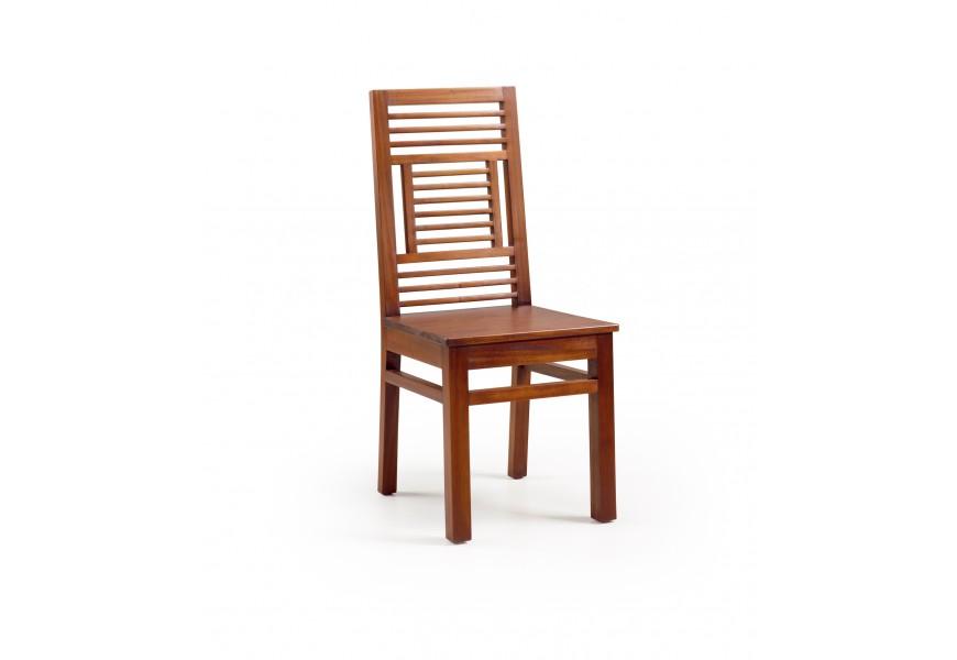Luxusná štýlová stolička z masívu Flamingo