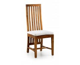 Čalúnená štýlová jedálenská stolička Star 110cm
