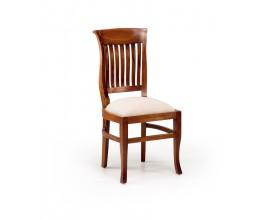 Luxusná masívna stolička July čalúnená Flamingo