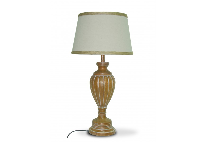 Stolná lampa VIENTO ALTO s tienidlom 63cm