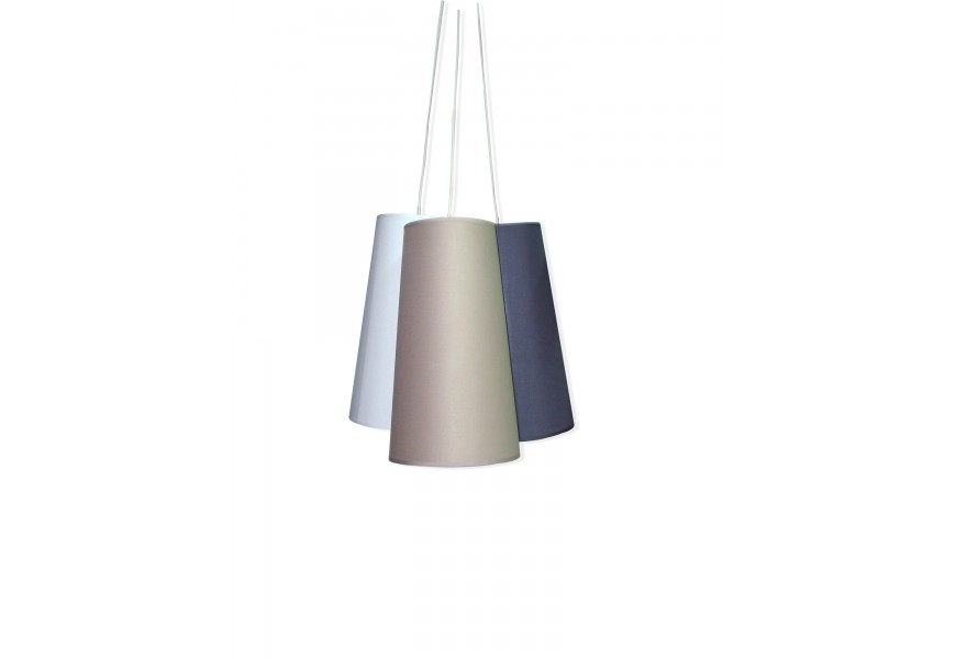 Dizajnová závesná lampa TRICOLOR