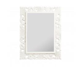 Zámocké nástenné zrkadlo M-VINTAGE v bielej farbe 110