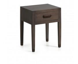Luxusný štýlový stolík SPARTAN so zásuvkou