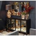 Zrkadlový luxusný nábytok Farian v art-deco štýle
