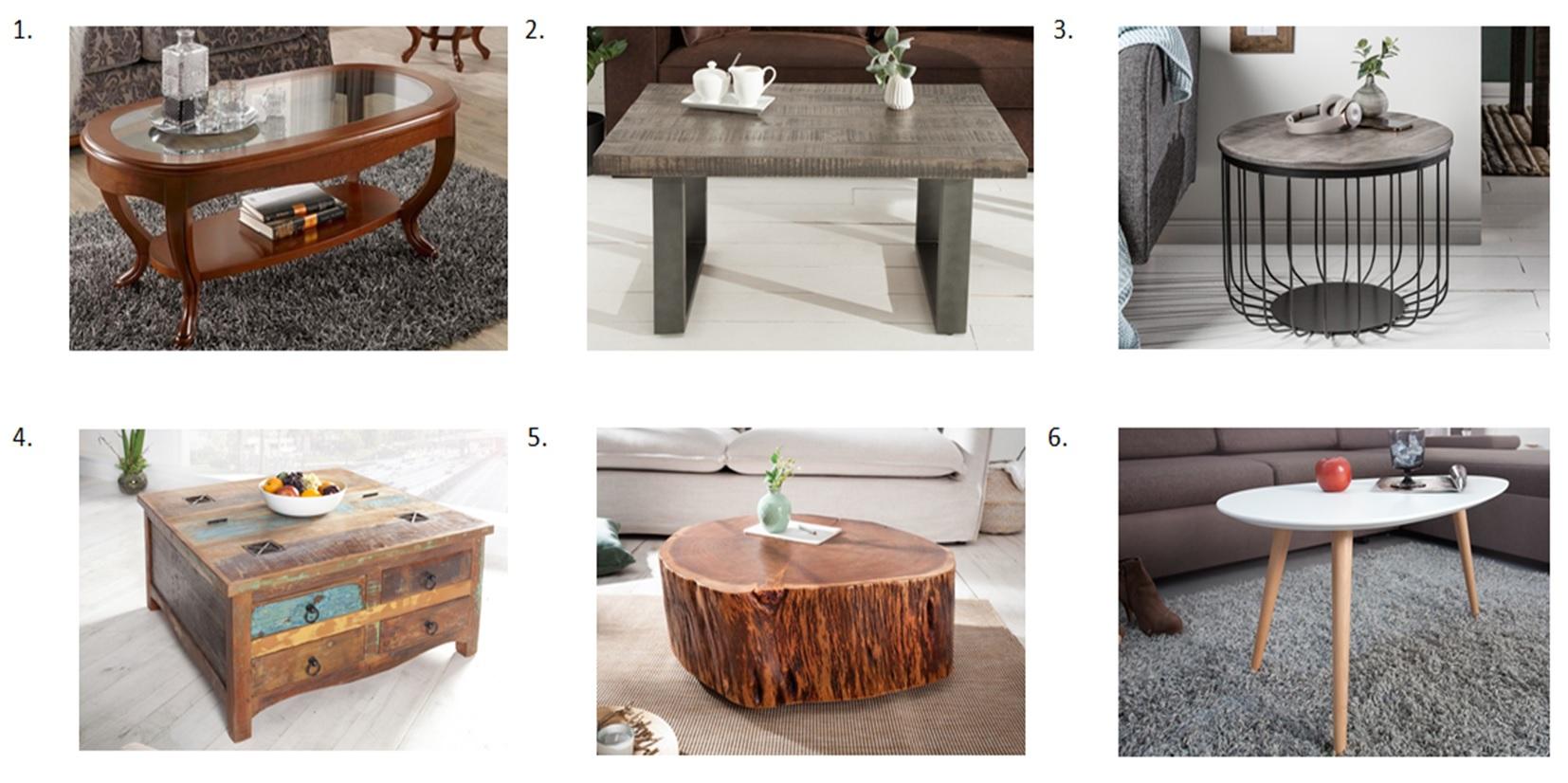 Výber konferenčného stolíka podľa tvaru a dizajnu