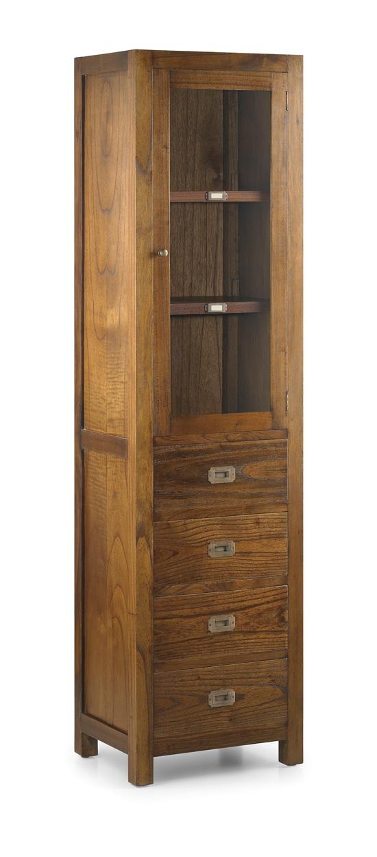 Moycor luxusná vitrína z dreva Mindi