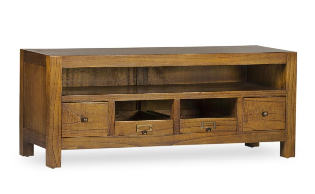Moycor luxusný TV stolík z masívneho dreva