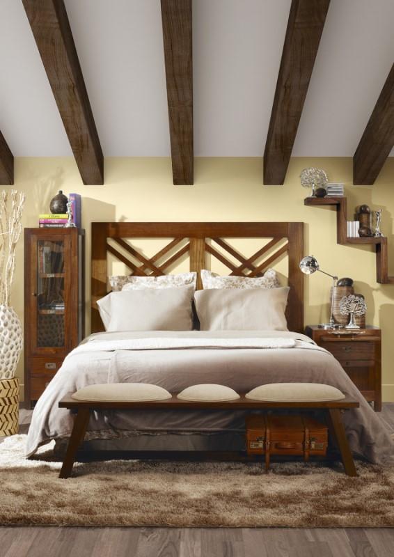 Moycor luxusný nábytok do spálne z tmavého dreva mindi