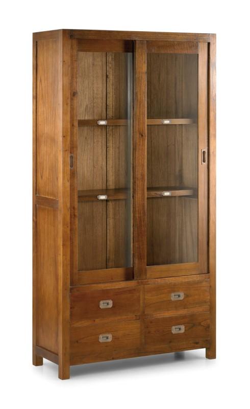 Moycor luxusná vitrína do jedálne z masívnehotmavého dreva